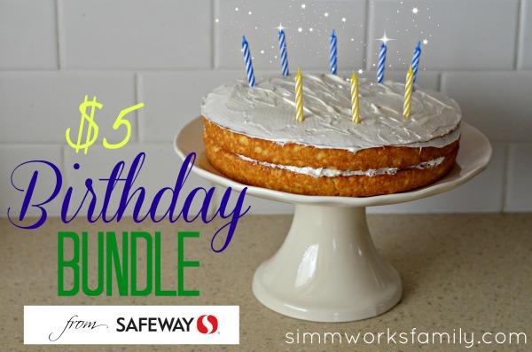 Safeway Birthday Bundle