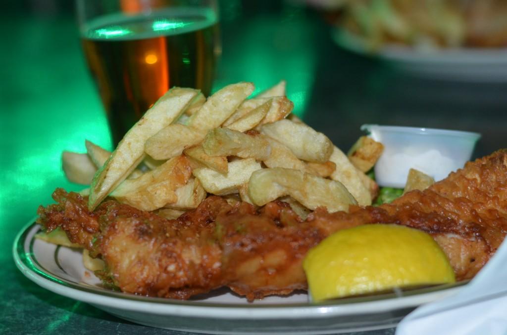 Shakespears Pub food - Fun Date Night in San Diego