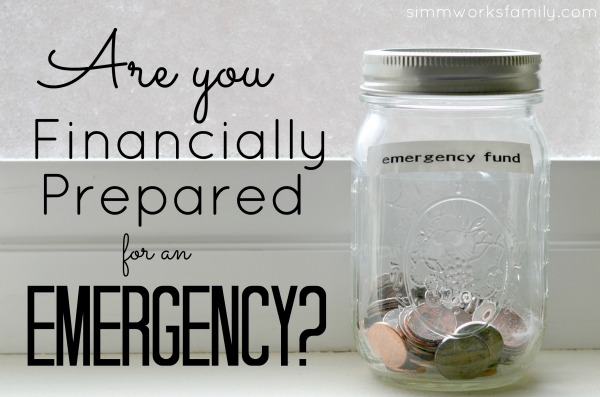 money management tips emergency