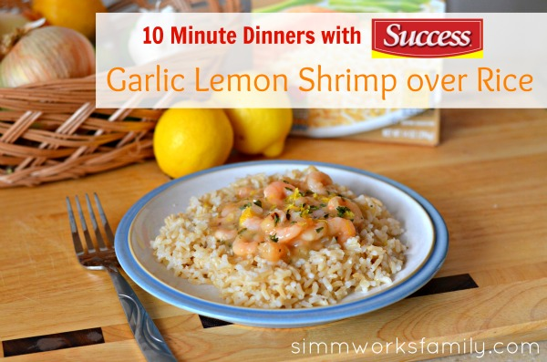 10 Minute Dinners Lemon Garlic Shrimp