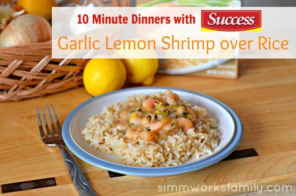 10 Minute Dinners Lemon Garlic Shrimp