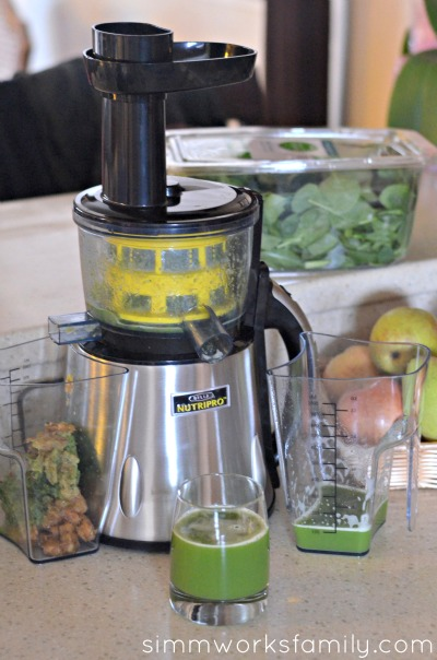 Benefits of Juicing NutriPro Juicer