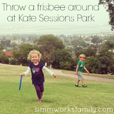 Celebrate Father's Day at Kate Sessions Park