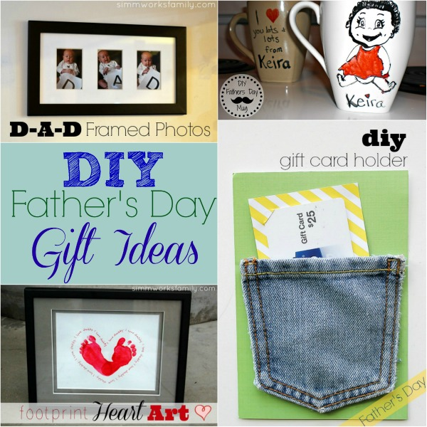 DIY Father's Day Gift Ideas collage