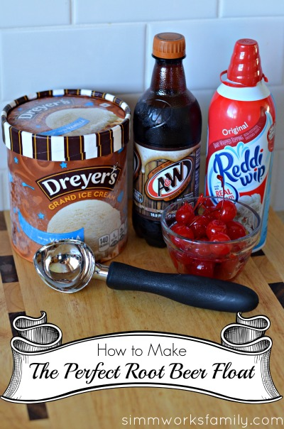 How To Make The Perfect Root Beer Float