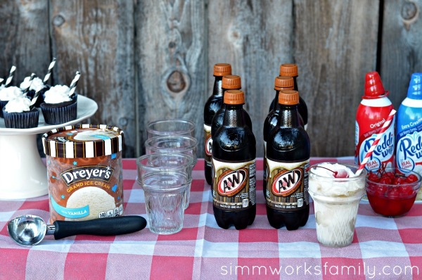How to Make the Perfect Root Beer Float assembly line