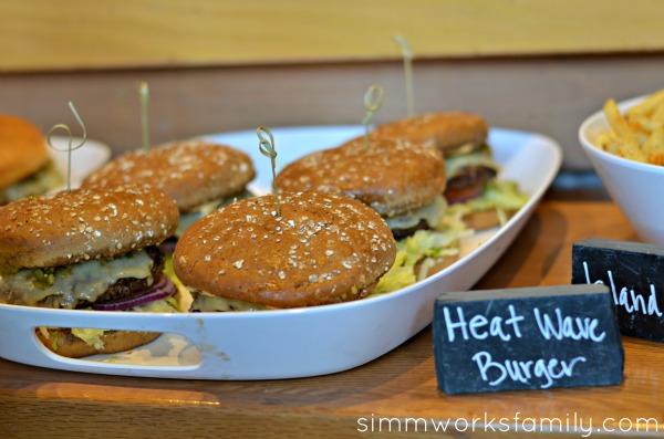 Islands Restaurant New Happy Hour Menu - burgers
