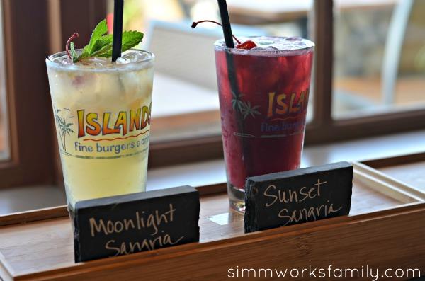 Islands Restaurant New Happy Hour Menu - drinks