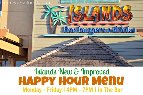 Islands Restaurant New Happy Hour Menu