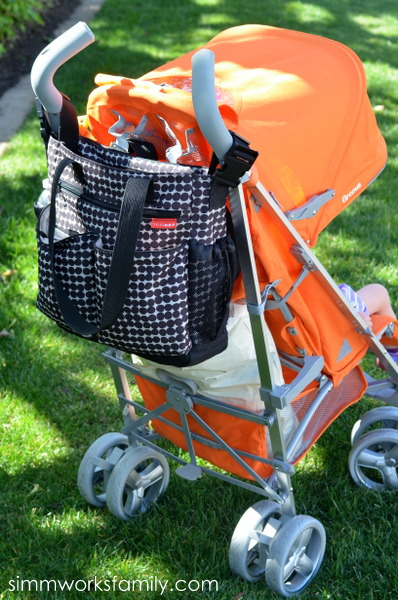Joovy Groove with diaper bag