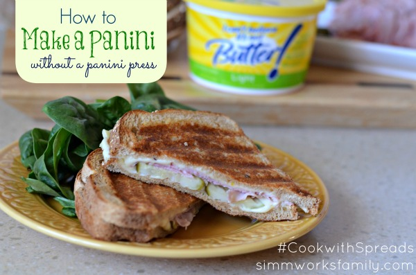 Make a Panini without A Panini Pres