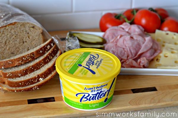 Make a panini without a panini press ingredients