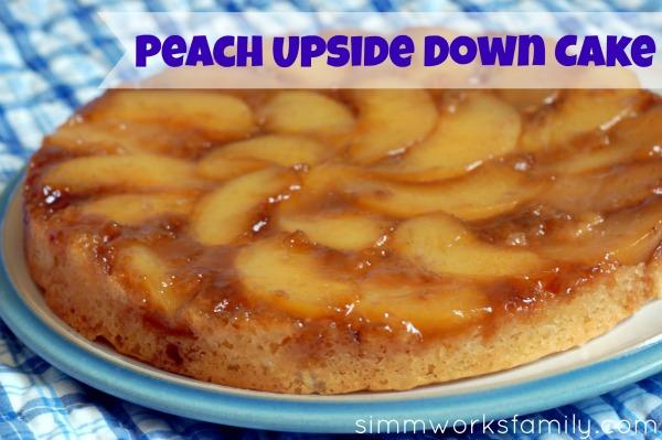 Peach Upside Down Cake1