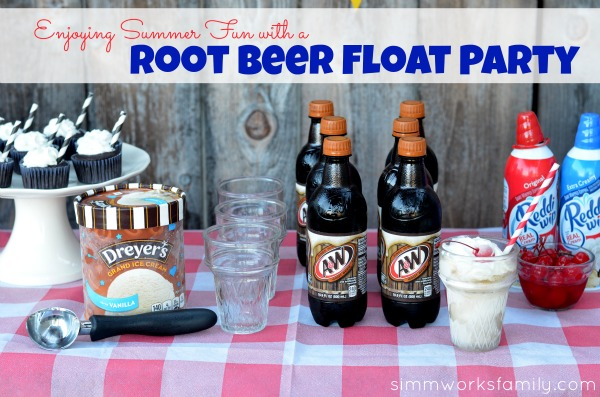 Root Beer Float Party