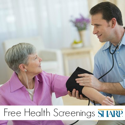 Sharp Healthcare Free Health Screenings