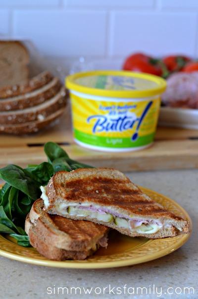 make a panini without a panini press sandwich