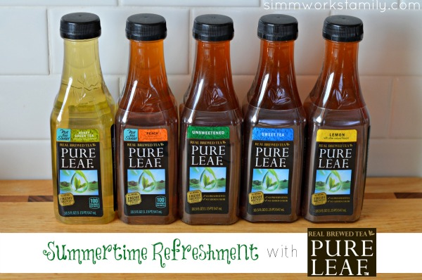 summertime refreshment with pure leaf iced tea