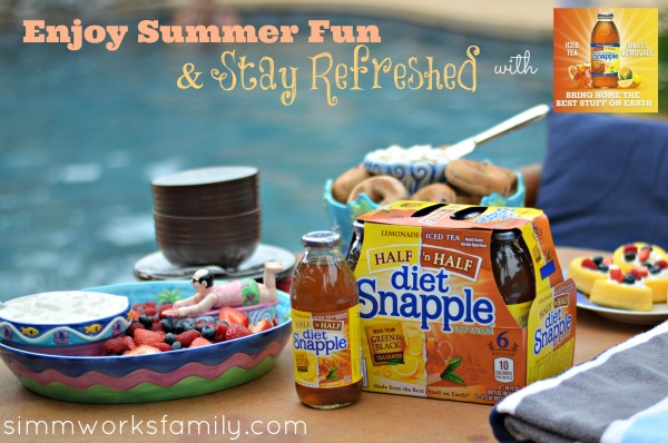 Enjoy Summer Fun and Stay Refreshed with Snapple Half and Half