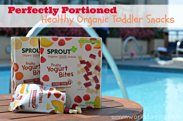 Healthy Snack Time with Sprout Organic Foods