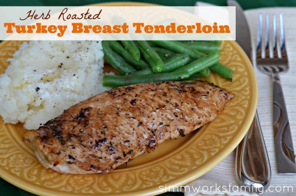 Herb Roasted Turkey Breast Tenderloin