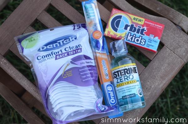 Orbit for Kids oral care kit