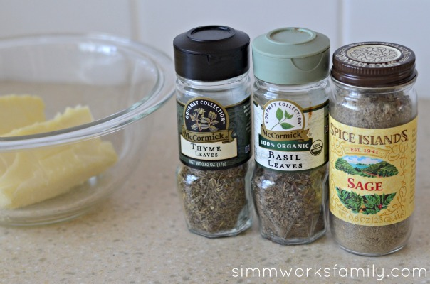 Herb Butter for Corn ingredients