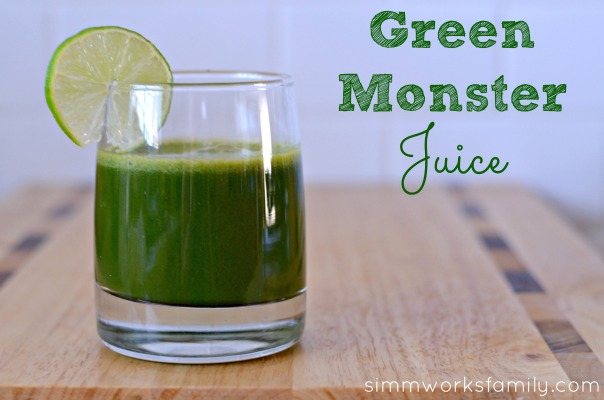 green monster juice benefits of juicing