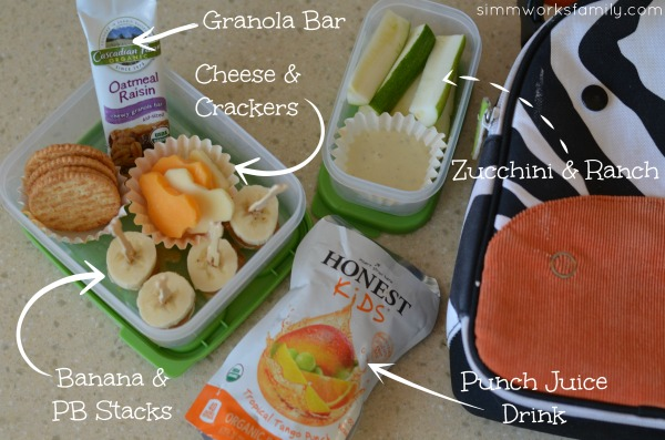 Back to School Lunch Ideas and Tips - cheese & crackers