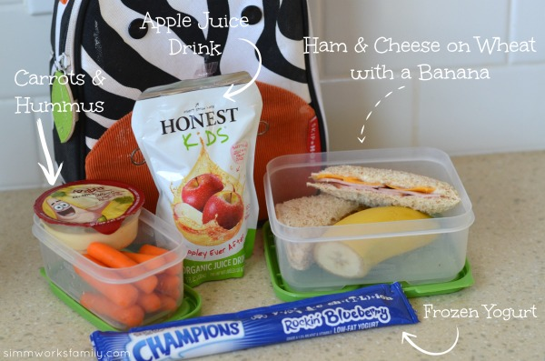Back to School Lunch Ideas and Tips - ham sandwich