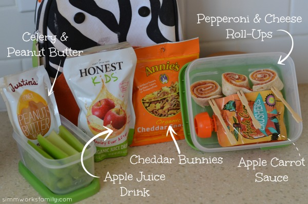 Back to School Lunch Ideas and Tips - pepperoni roll ups