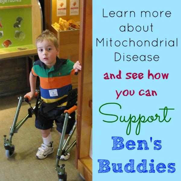 Ben's Buddies Mitochondrial Disease Support