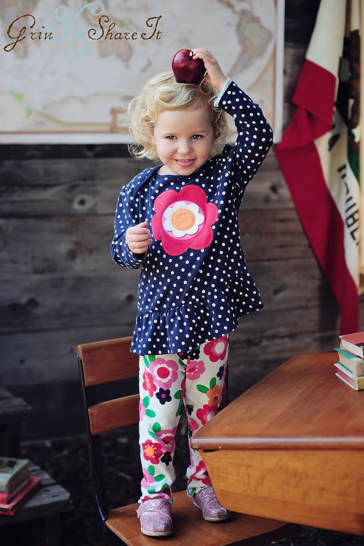 Gymboree Grow with Me Back to School Grin & Share It Photography 3