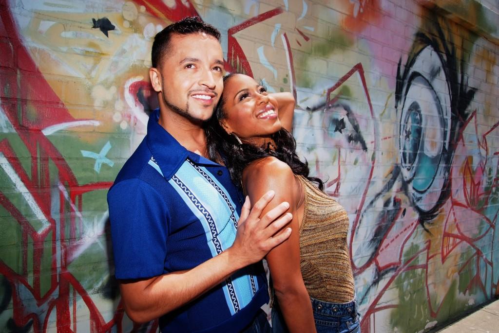 In The Heights L-R Jai Rodriguez, Danielle Mone' Truitt - photo credit Ed Krieger copy