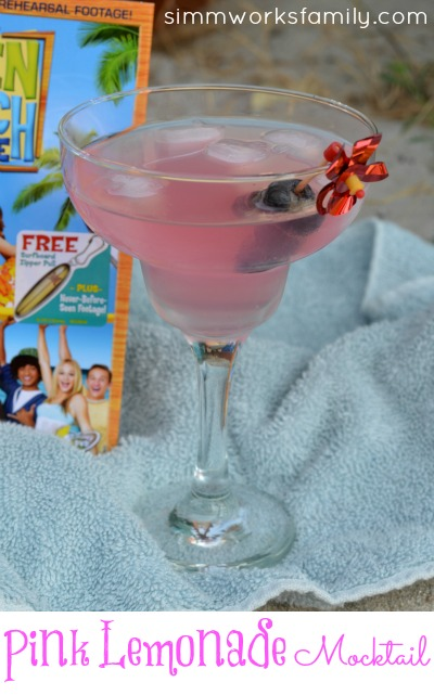 Pink Lemonade Mocktail