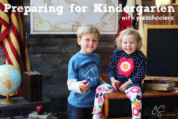 Preparing for Kindergaten with Preschoolers