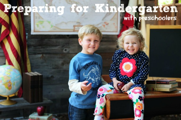 Preparing for Kindergarten with Preschoolers