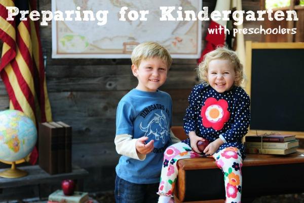 Preparing for Kindergarten with Preschoolers
