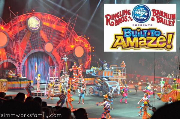 Ringling Bros and Barnum and Bailey Built to Amaze