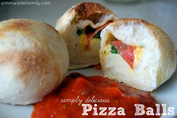 Simply Delicious Pizza Balls
