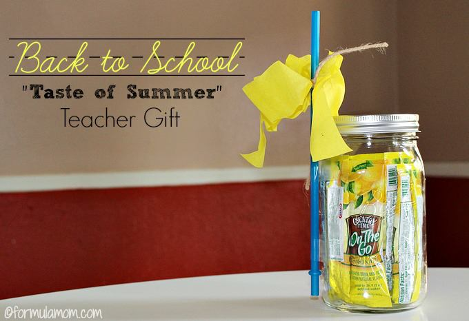back  to school taste of summer gift