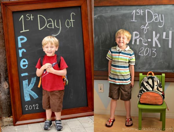 1st Day Comparison PreK3 and PreK4