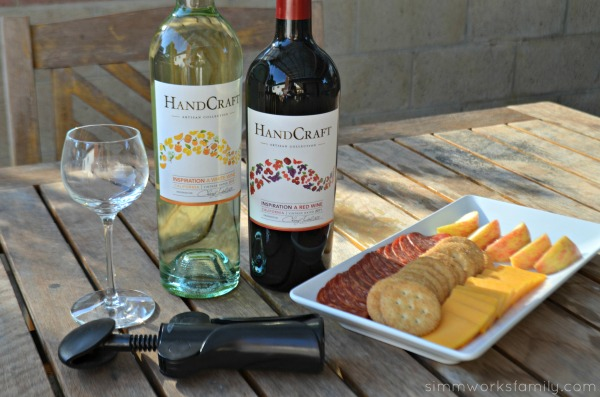 Handcraft Wines with cheese platter