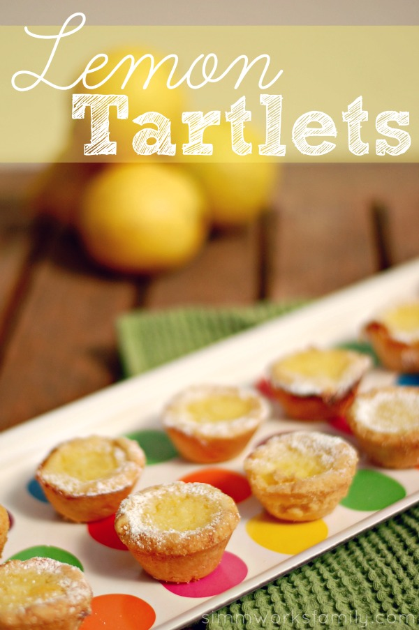 Lemon Tartlets portrait