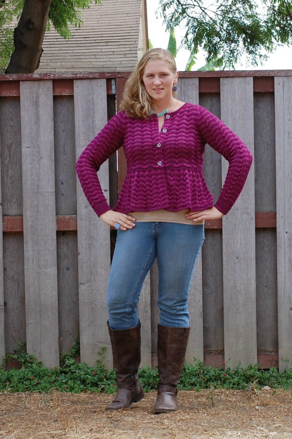 Matilda Jane Paint By Numbers cardigan and tank