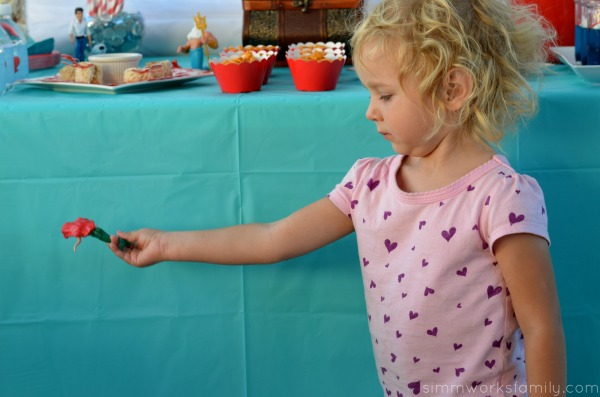The Little Mermaid Party Ideas playing with ariel #shop