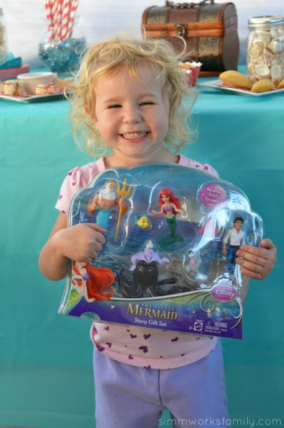 The Little Mermaid Story Gift Set #shop