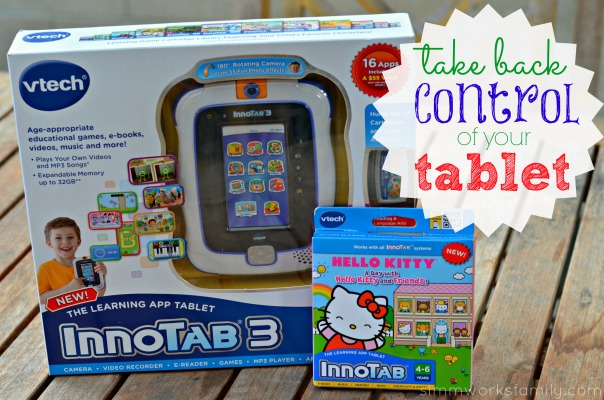 VTech InnoTab 3 take back control