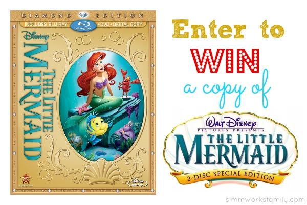 Win The Little Mermaid on DVD