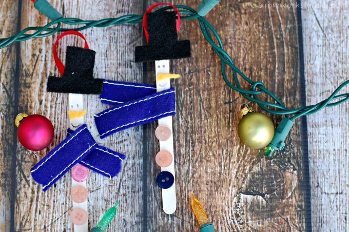 craft stick snowman ornaments2