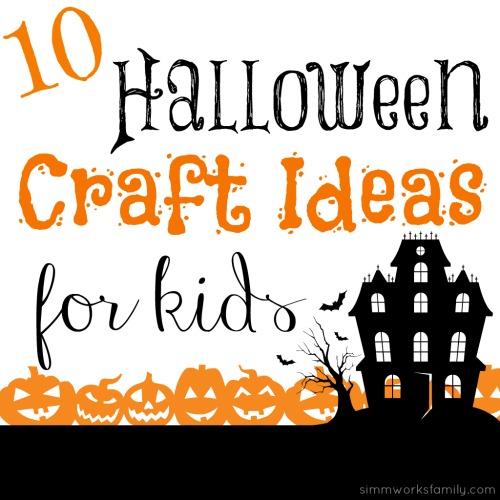 halloween craft ideas for kids